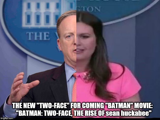 "batman's new two face |  THE NEW ""TWO-FACE"" FOR COMING ""BATMAN"" MOVIE:  ""BATMAN: TWO-FACE, THE RISE OF sean huckabee"" 