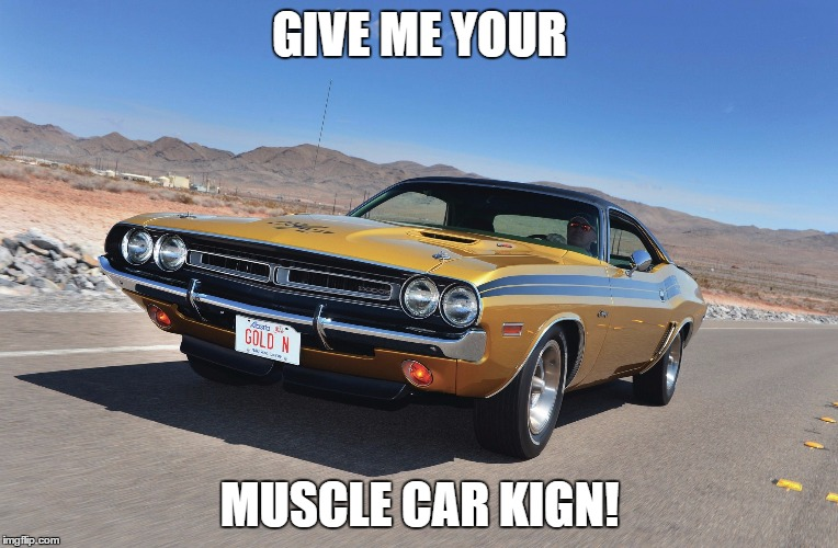 Muscle Car Imgflip