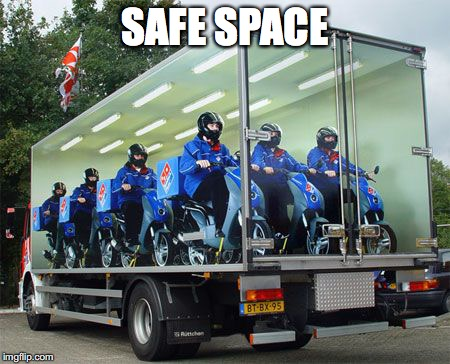 SAFE SPACE | made w/ Imgflip meme maker