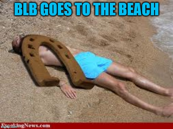 BLB GOES TO THE BEACH | made w/ Imgflip meme maker