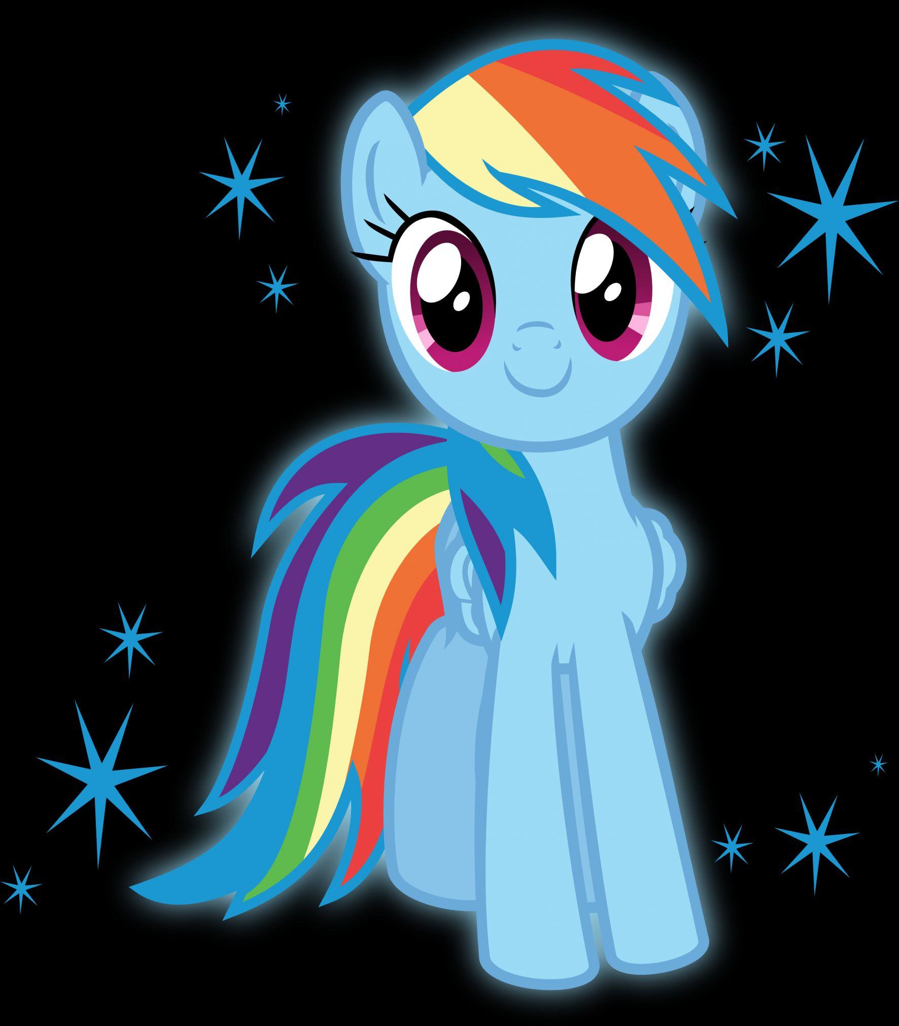 Rainbowdash My Little Pony Friendship Is Magic Blank Template Imgflip