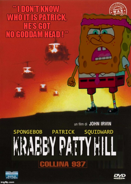 "It's ""Spongebob: The Viet Nam Years"" Theme Week. A fan21 Event :p 