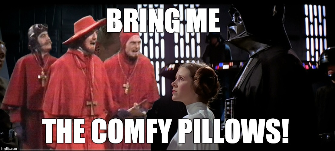 BRING ME THE COMFY PILLOWS! | made w/ Imgflip meme maker