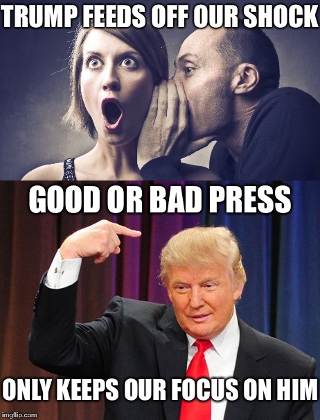Image result for trump bad press