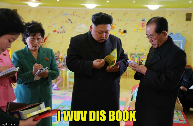 I WUV DIS BOOK | made w/ Imgflip meme maker