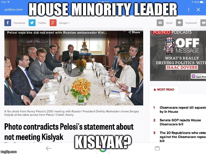 HOUSE MINORITY LEADER KISLYAK? | image tagged in the meeting | made w/ Imgflip meme maker