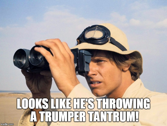 LOOKS LIKE HE'S THROWING A TRUMPER TANTRUM! | made w/ Imgflip meme maker