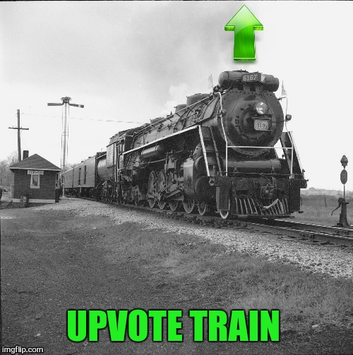 UPVOTE TRAIN | made w/ Imgflip meme maker