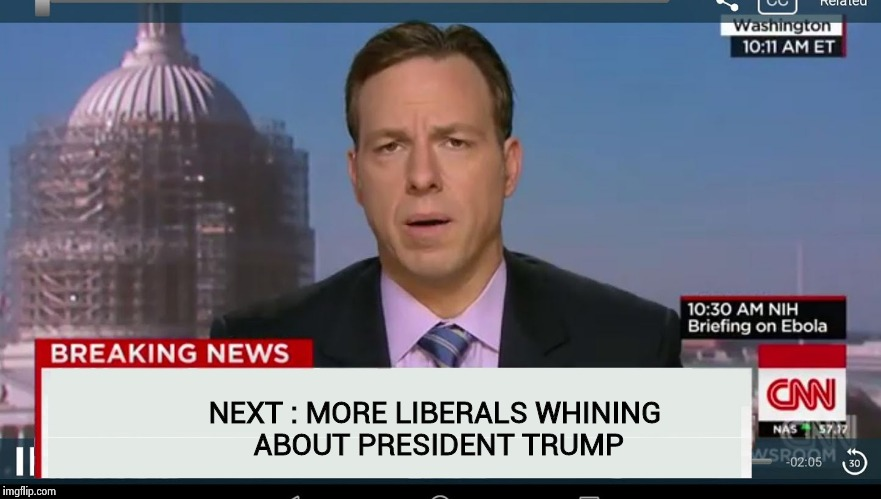 Just come out and say it already ! | NEXT : MORE LIBERALS WHINING ABOUT PRESIDENT TRUMP | image tagged in cnn breaking news template,libtards,socrates,alt using trolls | made w/ Imgflip meme maker