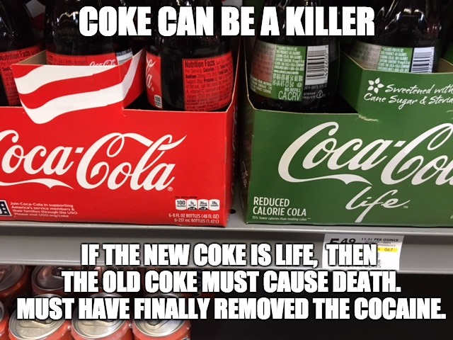 "The ""NEW"" Coke? 