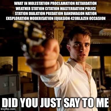 1owqlj guy pointing gun meme generator imgflip