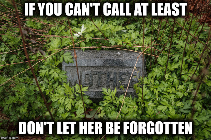 IF YOU CAN'T CALL AT LEAST DON'T LET HER BE FORGOTTEN | made w/ Imgflip meme maker