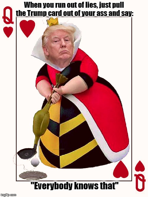 Image result for Trump as red queen images