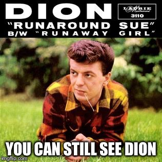 YOU CAN STILL SEE DION | made w/ Imgflip meme maker