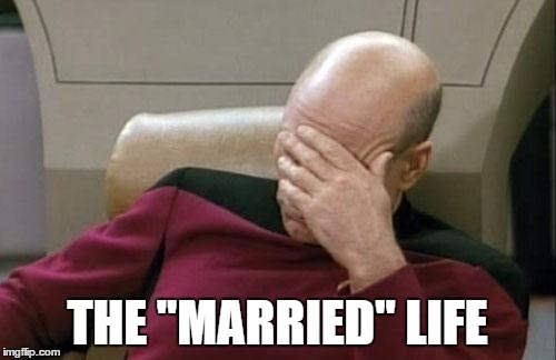 "Captain Picard Facepalm Meme | THE ""MARRIED"" LIFE 
