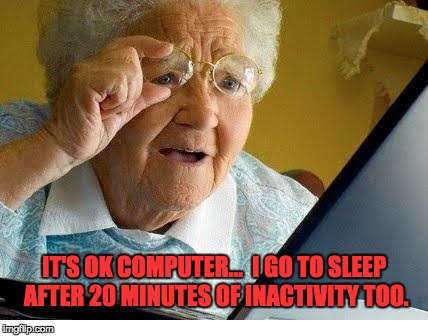 1p0jaw old lady at computer meme generator imgflip