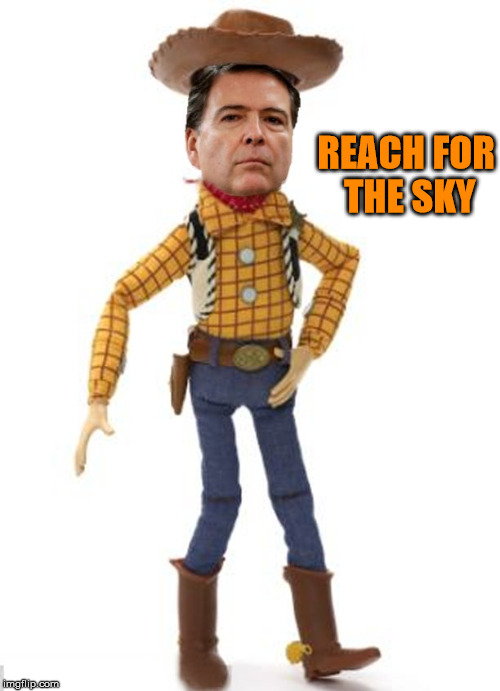 "James ""Woody"" Comey don't play that. 