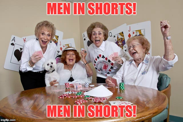 MEN IN SHORTS! MEN IN SHORTS! | made w/ Imgflip meme maker