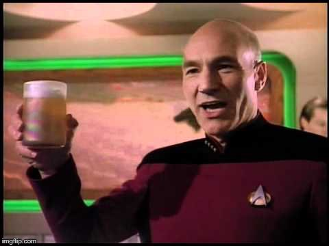 Picard Toasting | T | image tagged in picard toasting | made w/ Imgflip meme maker
