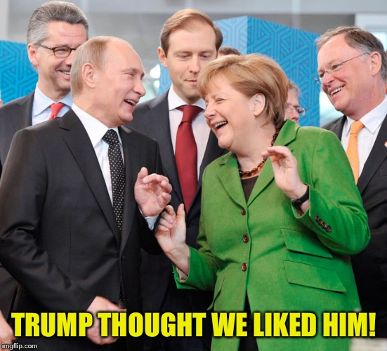 TRUMP THOUGHT WE LIKED HIM! | made w/ Imgflip meme maker
