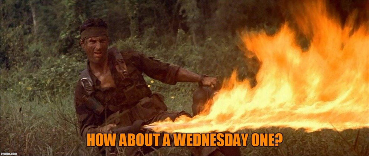 HOW ABOUT A WEDNESDAY ONE? | made w/ Imgflip meme maker