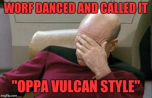 "Klingon Style! | WORF DANCED AND CALLED IT ""OPPA VULCAN STYLE"" 