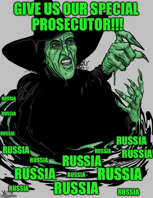 GIVE US OUR SPECIAL PROSECUTOR!!! RUSSIA RUSSIA RUSSIA RUSSIA RUSSIA RUSSIA RUSSIA RUSSIA RUSSIA RUSSIA RUSSIA RUSSIA RUSSIA RUSSIA RUSSIA | image tagged in i'm melting | made w/ Imgflip meme maker