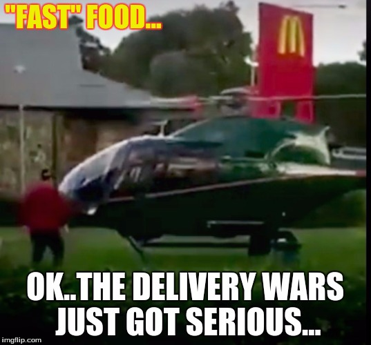 """FAST"" FOOD... 