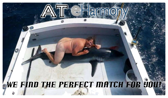 Some guys will bang anything | AT E HARMONY WE FIND THE PERFECT MATCH FOR YOU! | image tagged in online dating,eharmony,satire,memes | made w/ Imgflip meme maker