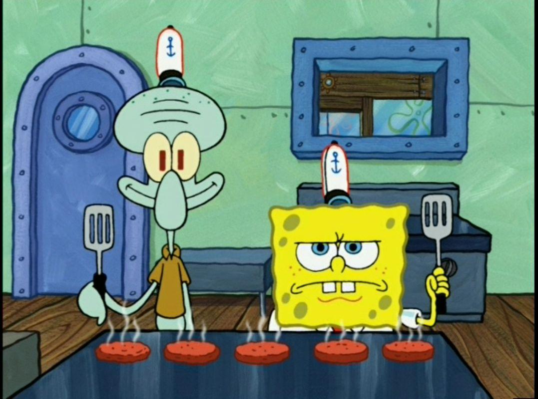 spongebob cooking quotes