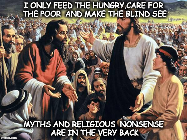 Jesus Feeds The Thousands