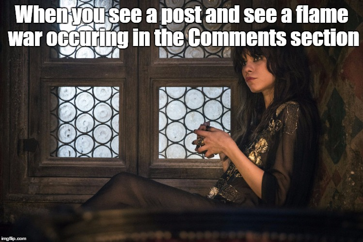 Interested West | When you see a post and see a flame war occuring in the Comments section | image tagged in interested west,memes,flame war,comments,comment section,bullshit | made w/ Imgflip meme maker