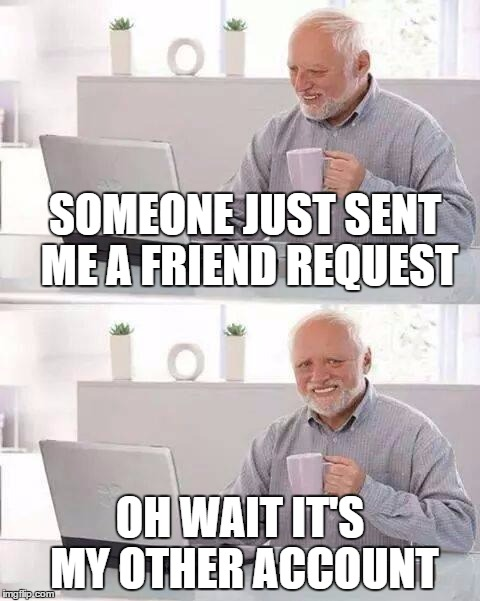 "A ""friend"" request 
