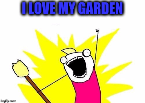 X All The Y Meme | I LOVE MY GARDEN | image tagged in memes,x all the y | made w/ Imgflip meme maker