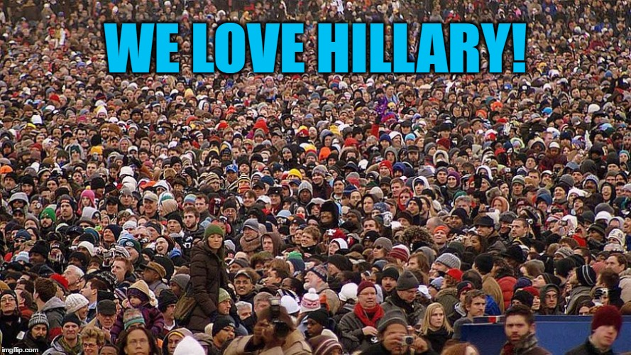 WE LOVE HILLARY! | made w/ Imgflip meme maker