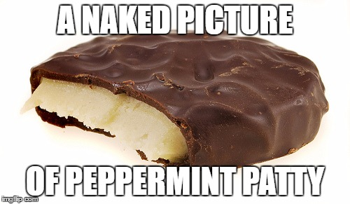 Not Charlie Browns lesbian friend | A NAKED PICTURE OF PEPPERMINT PATTY | image tagged in peppermint patty,memes,peanuts charlie brown peppermint patty | made w/ Imgflip meme maker