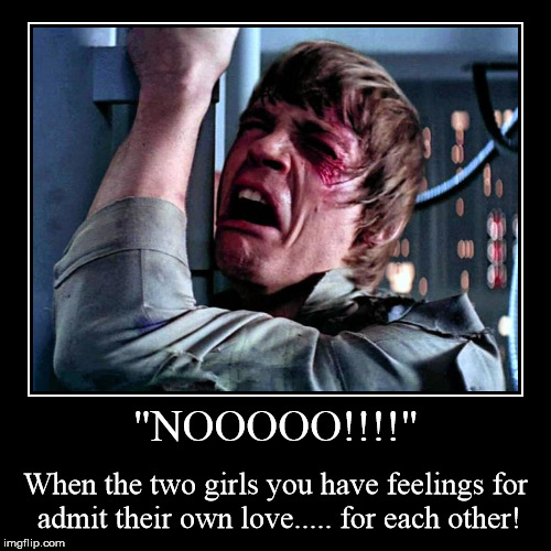 "I guess my Force wasn't hard enough! | ""NOOOOO!!!!"" 