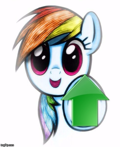 Upvote rainbow dash | J | image tagged in upvote rainbow dash | made w/ Imgflip meme maker