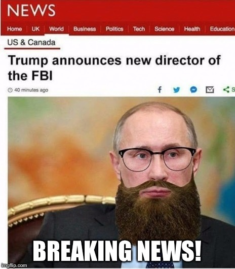 Breaking News! | BREAKING NEWS! | image tagged in memes,fbi,thanks to,rpc1 | made w/ Imgflip meme maker