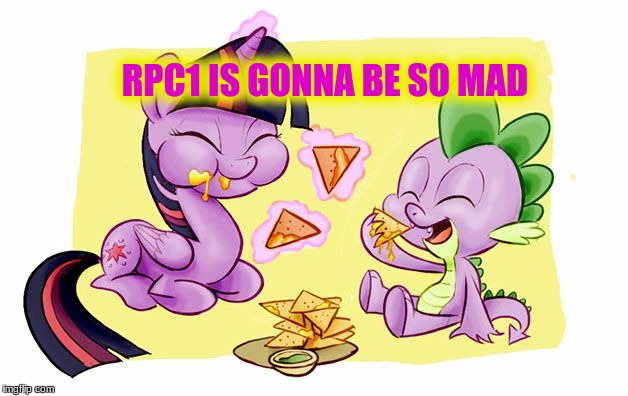 RPC1 IS GONNA BE SO MAD | made w/ Imgflip meme maker