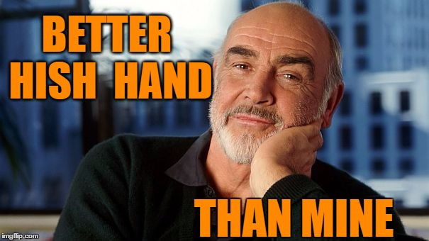 sean | BETTER HISH  HAND THAN MINE | image tagged in sean | made w/ Imgflip meme maker