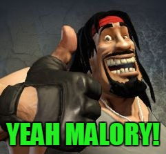 Upvote | YEAH MALORY! | image tagged in upvote | made w/ Imgflip meme maker