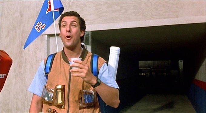 Adam Sandler Waterboy Meme Template
