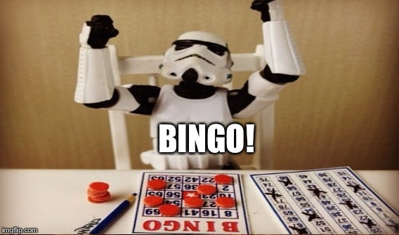 BINGO! | made w/ Imgflip meme maker