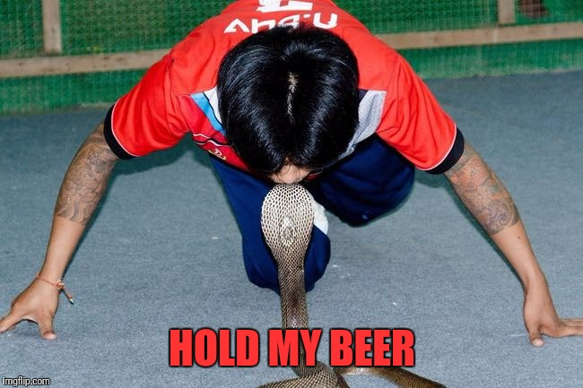 HOLD MY BEER | made w/ Imgflip meme maker