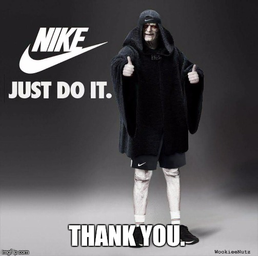Star Wars | THANK YOU. | image tagged in star wars | made w/ Imgflip meme maker