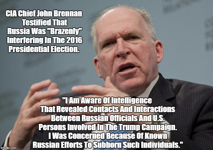 "CIA Chief John Brennan Details Russia's ""Brazen"" Interference In The 2016 Presidential Election 