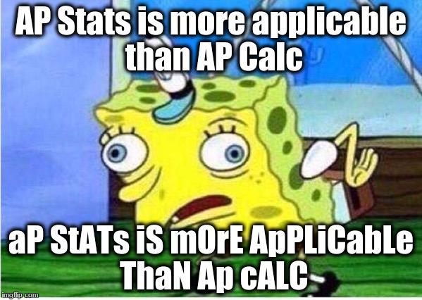 Calculus memes spongebob