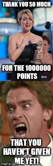 Still have a long way to go! | THANK YOU SO MUCH THAT YOU HAVEN'T GIVEN ME YET! FOR THE 1000000 POINTS | image tagged in thanks | made w/ Imgflip meme maker