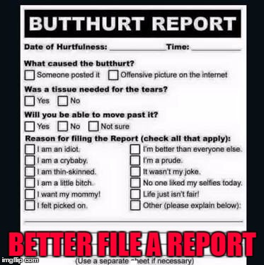 BETTER FILE A REPORT | made w/ Imgflip meme maker
